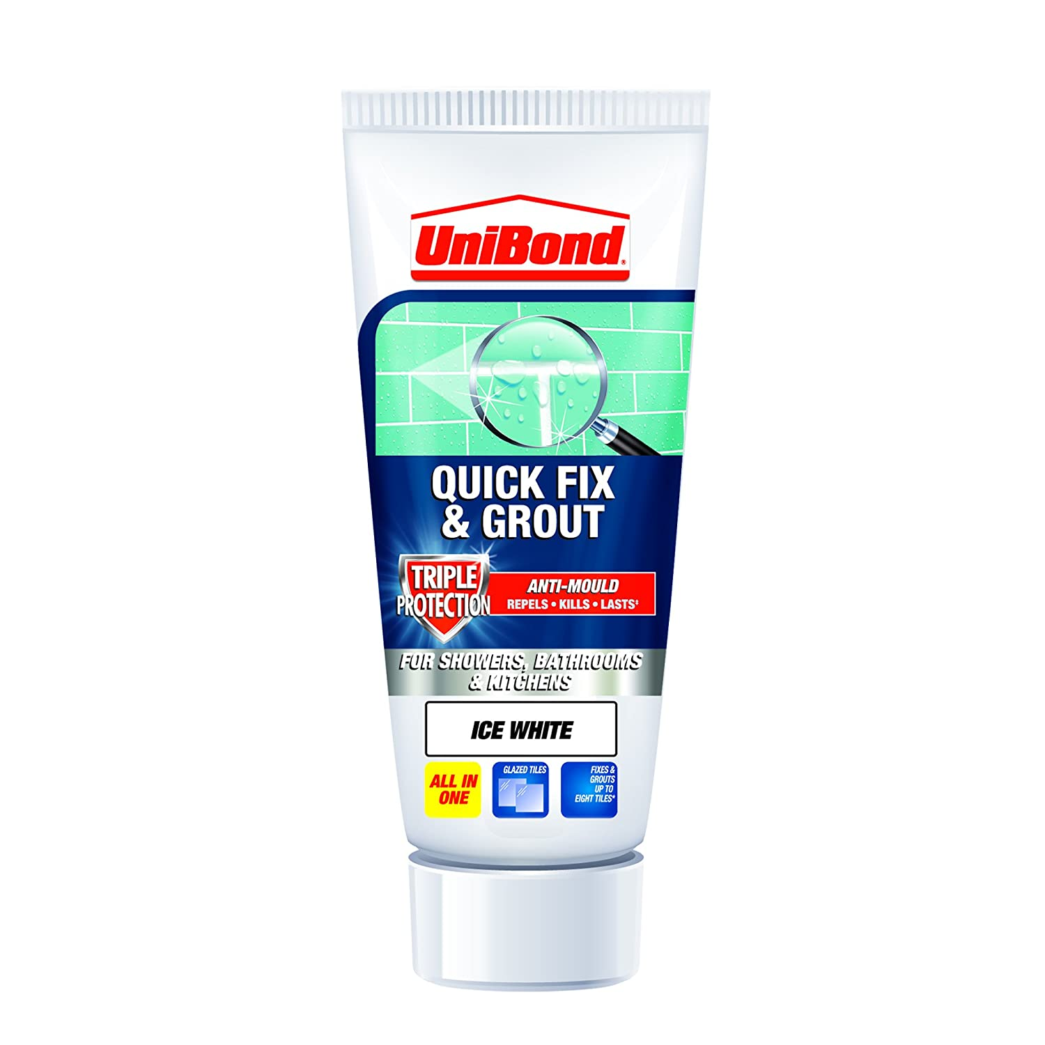 Unibond 1616659 triple protect anti mould fix and grout tube white unibond 1616659 triple protect anti mould fix and grout tube white amazon diy tools dailygadgetfo Gallery