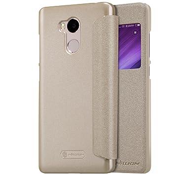 Kepuch Sparkle Xiaomi Redmi 4 Pro Funda - Alta Calidad Estuche PU Cuero Brillante Escudos Carcasa Funda Smart Case Cover Cuero Ultra-delgado Para ...
