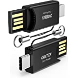 USB Type C Card Reader, CHOETECH - 2 Pack Micro SD Card Reader (USB Type-A & Type-C/OTG Connectors), USB C Card Reader for Galaxy Note 8/S8/S8 Plus, 2017/2016 MacBook Pro, Google Pixel/ XL, PC