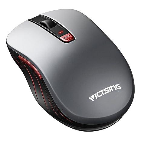 a4fafaebbab903 Mouse Wireless VicTsing Mouse Senza Fili 2.4G USB, 5 Livelli DPI Regolabili  (800