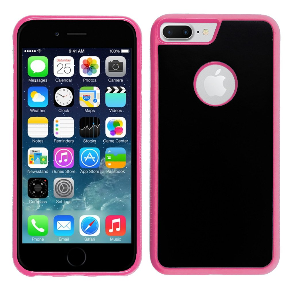 Hands-free or Full Body Selfies /& Videos For iPhone 7 // 7s Nano Suction Cups Stick to Flat /& Smooth Surfaces to Defy Gravity Koala Stick Anywhere Phone Case Easy-Clean /& Anti-Scratch -Black