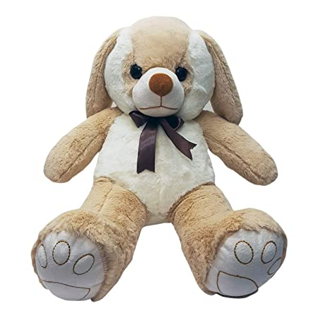 Ultra Soft Angel Teddy Bear - Dog, White and Brown (22-inch) Animals & Figures at amazon