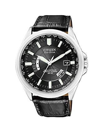 Citizen CB0010-02E - Reloj analógico de Cuarzo para Hombre, Correa de Cuero Color Negro: Amazon.es: Relojes