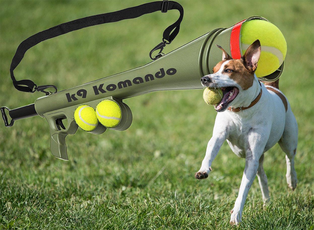 Presents From The Dog Part - 45: Dog Komando K-9 Tennis Ball Launcher Gun