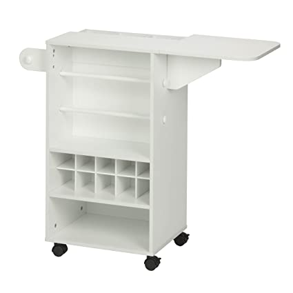 Ordinaire Honey Can Do CRT 06343 Rolling Craft Storage Cart With Fabric Drawer,