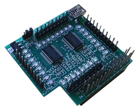 pridopia I2 C 23017 – 2 tarjeta de 32 GPIO para Raspberry Pi modelo A/