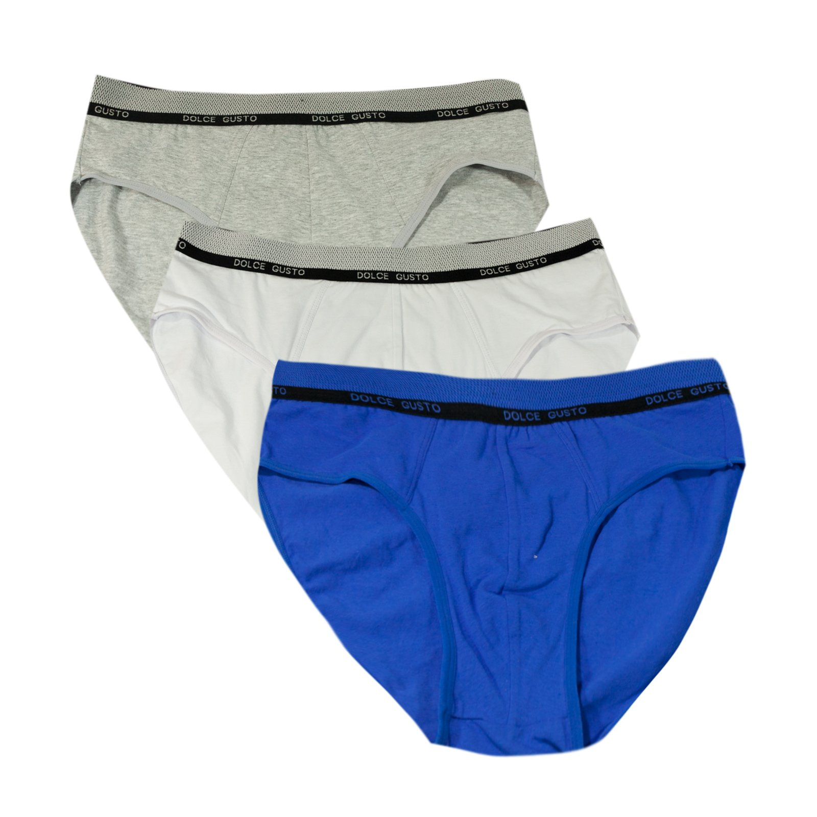 Dolce Gusto Men's Boxers Brief 3-Pack - XXXL by Love Hana (Image #2)