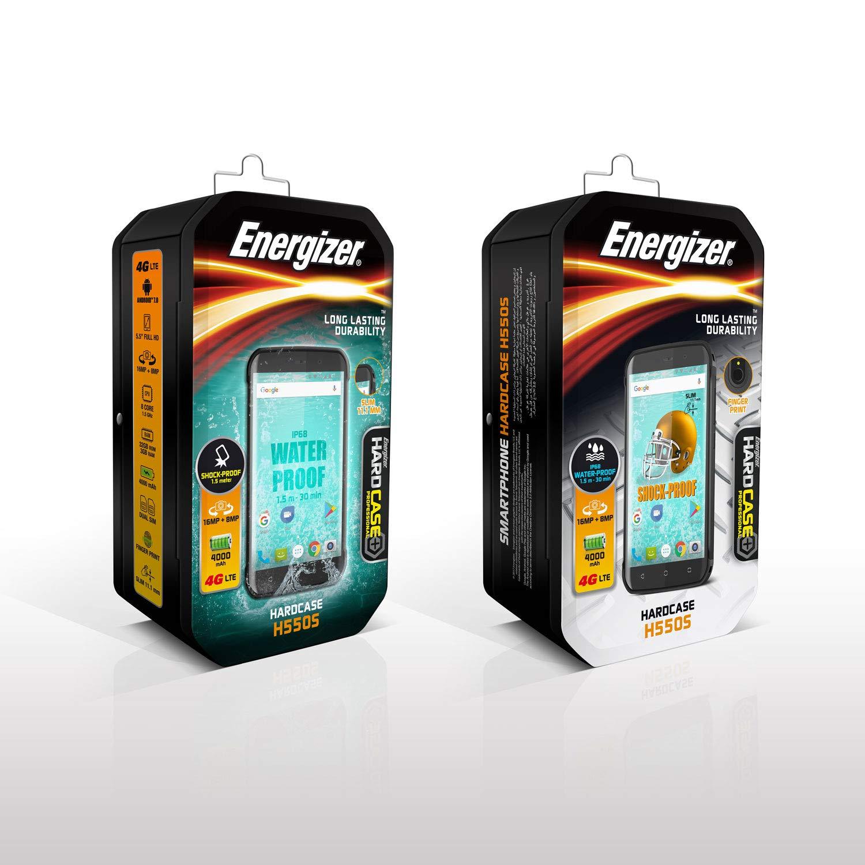 reputable site 03570 ec40d Energizer Smartphone Hard Case for H550S - Black: Amazon.co.uk ...