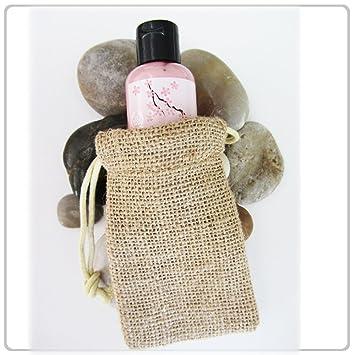 Amazon.com: Nuevo Burlap Favor bolsas con cordón 3 x 5 ...