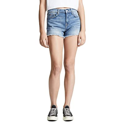 7 For All Mankind Women's Cutoff Shorts: Clothing