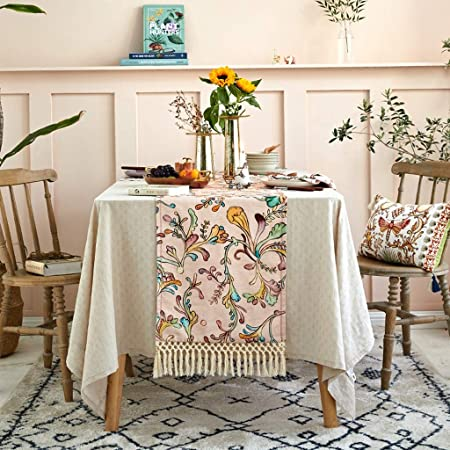 Camino De Mesa De Diseño Moderno Rosa, Salón Cocina Decoración ...