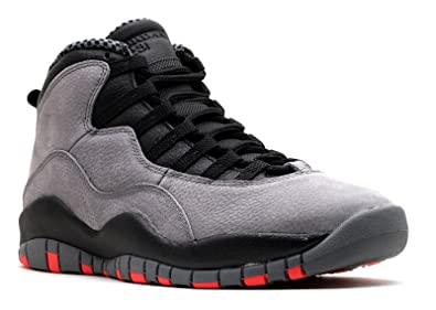 2fbb044b91cf Jordan Air Retro 10 Men s Basketball Shoes Cool Grey Infrared-Black  310805-023
