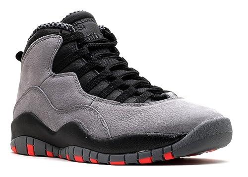 Amazon Com Nike Mens Air Jordan Retro 10 Leather Basketball Shoes