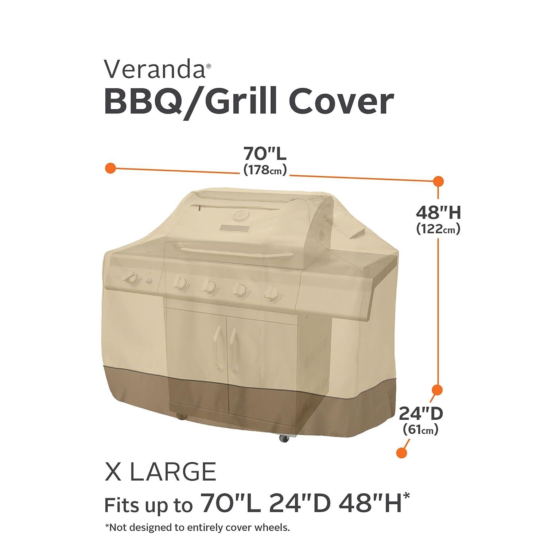 Amazon Com Classic Accessories 73942 Veranda Grill Cover X Large