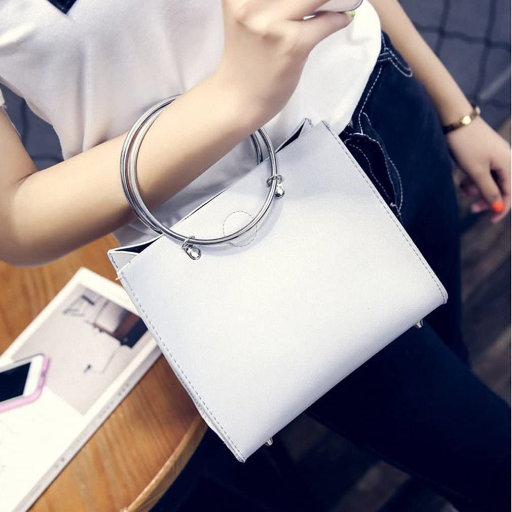 NEW new Womens Lash Bags with Double Rings Carrying Handle Single Shoulder Bags Handbags