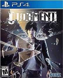Judgment - PlayStation 4: Sega of America Inc: Video     - Amazon com