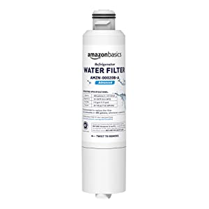 AmazonBasics Replacement Samsung DA29-00020B Refrigerator Water Filter - Advanced Filtration