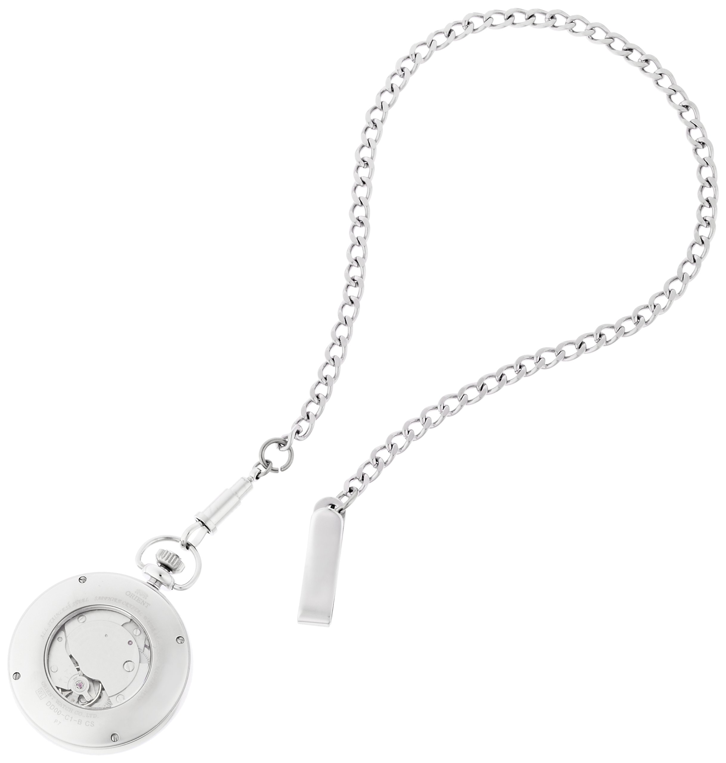 ORIENT WORLD STAGE Collection pocket watch hand winding sapphire glass WV0031DD by ORIENT (Image #2)