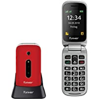 Teléfono Móvil Funker C75 Rojo Easy Comfort