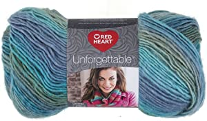 Red Heart Boutique Unforgettable Yarn, Tidal