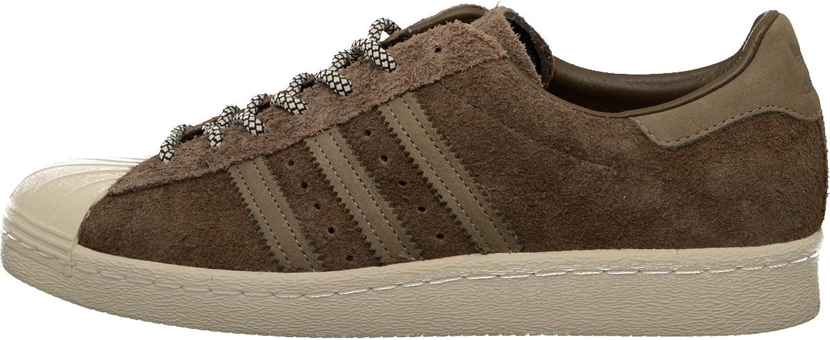 adidas Originals Superstar Sneakers Unisex Damen Herren Braun Größe 41 1/3 bis 47 1/3