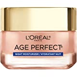 Rosy Tone Cooling Night Moisturizer by L'Oreal Paris Skin Care, Age Perfect Face Moisturizer to Reactivate Rosy Radiance…