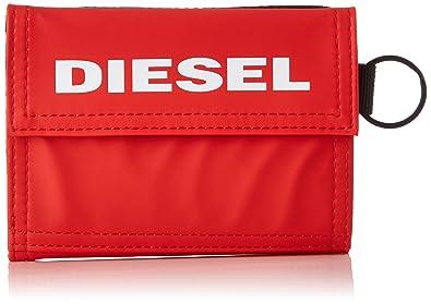 Diesel YOSHI, Cartera para Hombre, Rojo (Fiery Red), 5.4 ...