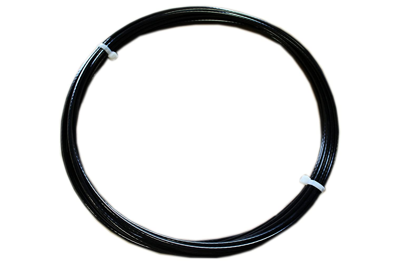 7x19 Strand Core Vinyl Coated 50 Length Loos Stainless Steel 302//304 Wire Rope Black 3700 lbs Breaking Strength 3//16 Bare OD 1//4 Coated OD