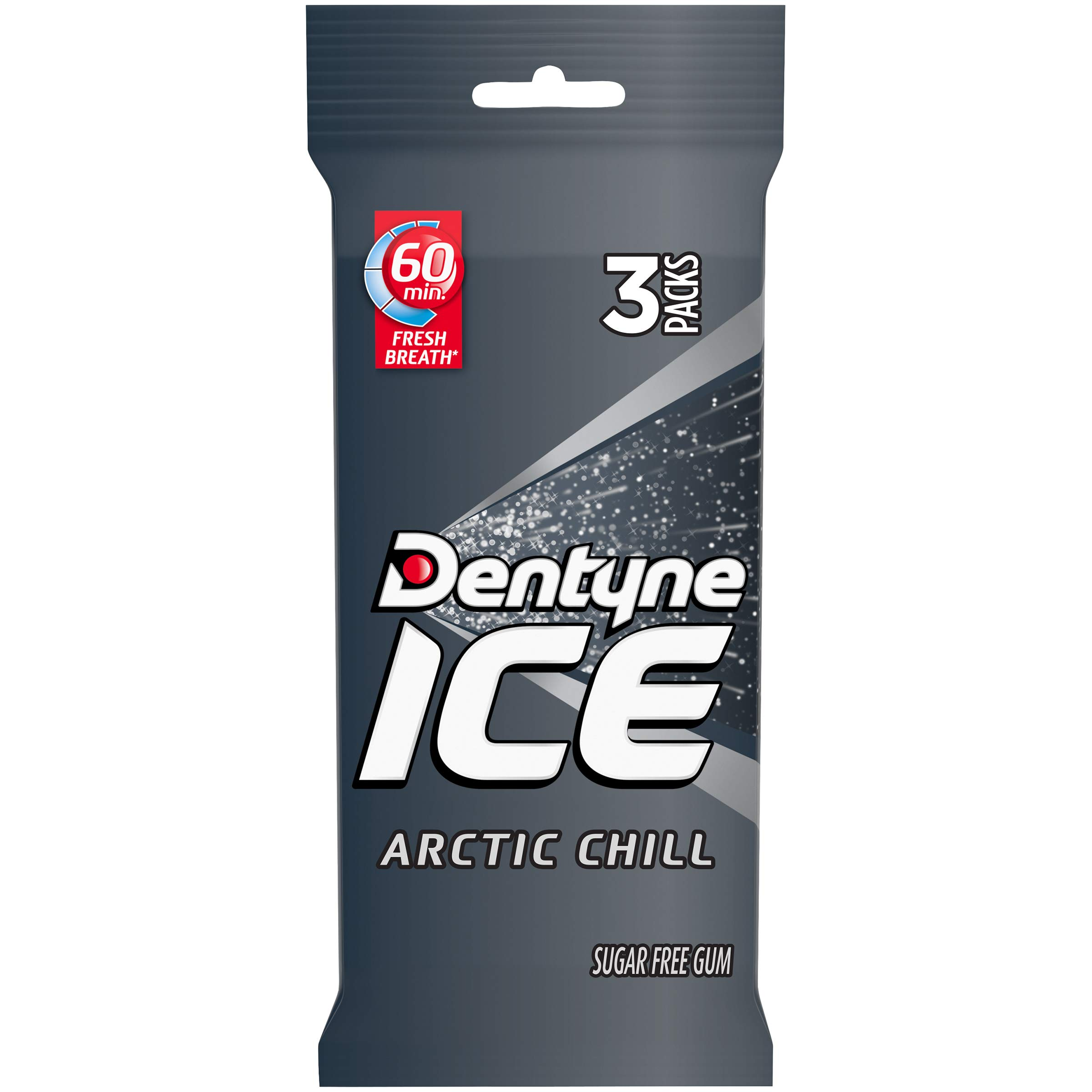 Dentyne Ice Sugar Free Gum (Arctic Chill  3 x 16 Piece  Pack of 20) by Dentyne