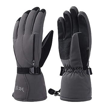 9f5fd07b61d2d3 MCTi Skihandschuhe Herren Ski Handschuhe Snowboard Winterhandschuhe  Wasserdicht Winter Warm 3M Thinsulate
