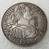 YunBest Morgan Silver Dollars – 1793 Scottish 5 shillings Silver Coin Collecting – Silver Dollar Old Coin BestShop