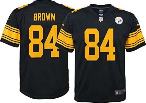 huge selection of fb901 02b49 Amazon.com : Steelers Antonio Brown Pittsburgh Color Rush ...