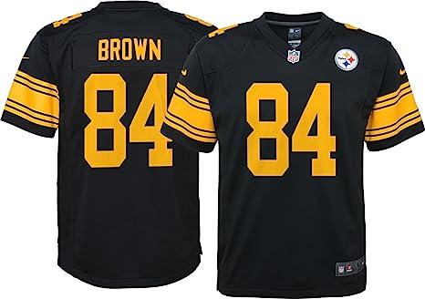 huge selection of 79d19 e3671 Amazon.com : Steelers Antonio Brown Pittsburgh Color Rush ...