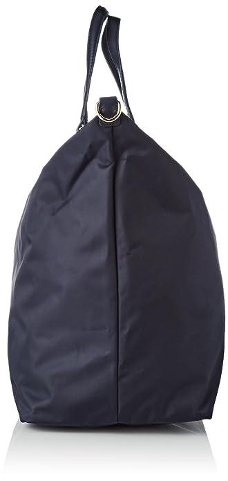 Damen Poppy Weekender Schultertasche, Blau (Tommy Navy), 21x41.5x38 cm Tommy Hilfiger