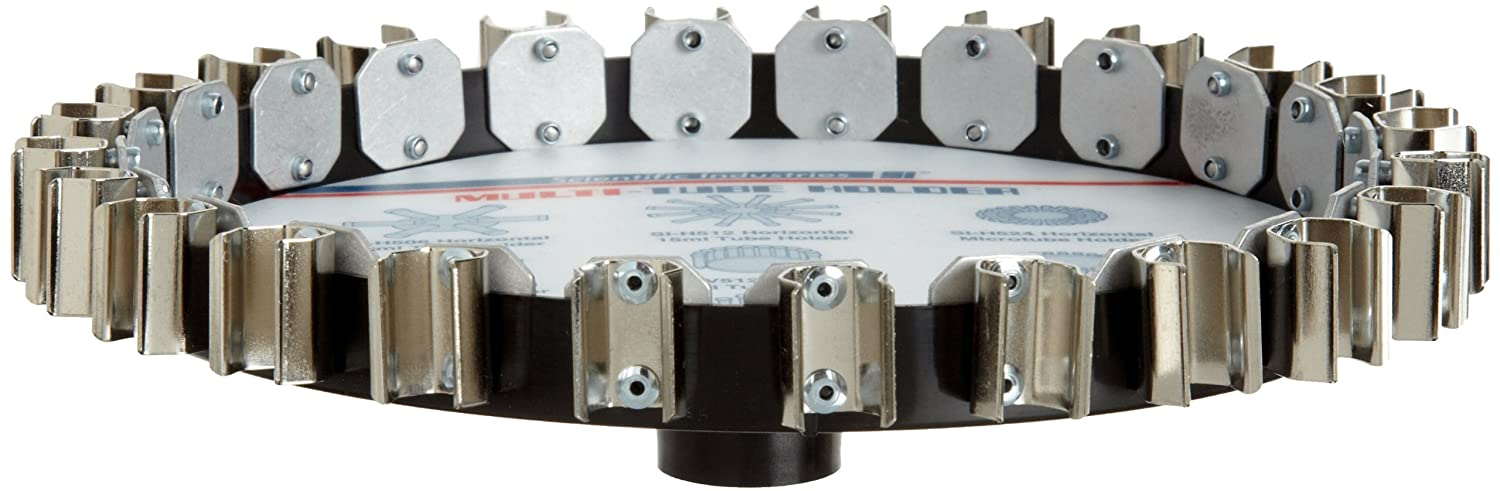 Scientific Industries SI-V524 Vertical Microtube Holder for Vortex-Genie 2 and Vortex-Genie Pulse Mixers, Holds 24 Microtubes