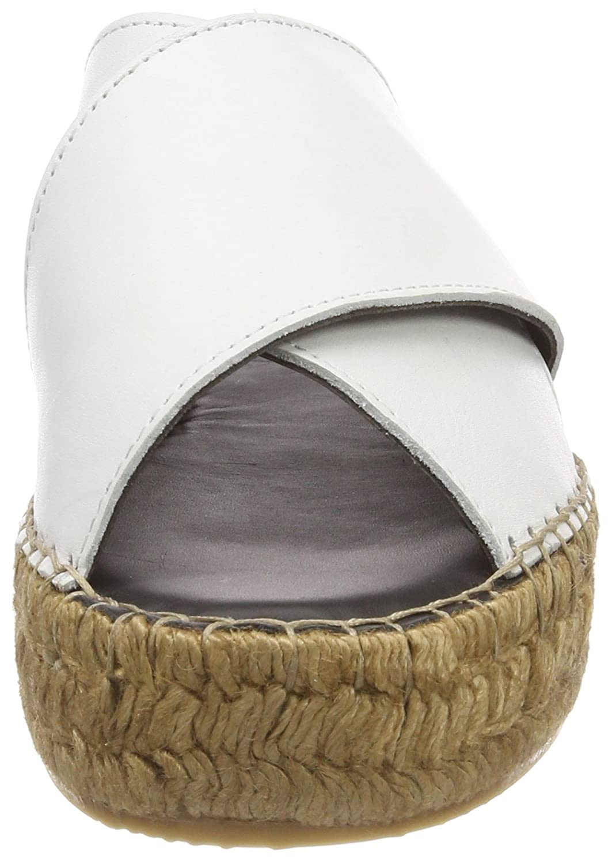 Royal RepubliQ Slipper Damen Wayfarer Cross Sandale-WHT Slipper RepubliQ Weiß (Weiß) 909598