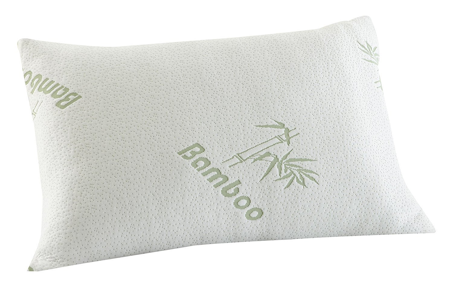 Luxury Bamboo Memory Foam Pillow, Temprature Sensitive Cover, Anti-Bacterial Support Pillow Choice of Packs (Pack of Four) Nights uk Ltd