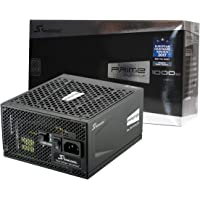 Seasonic Prime 1000 Platinum SSR-1000PD 1000W 80+ Platinum ATX12V & EPS12V Full Modular 135mm FDB Fan Power On Self Tester 12 YearPower Supply