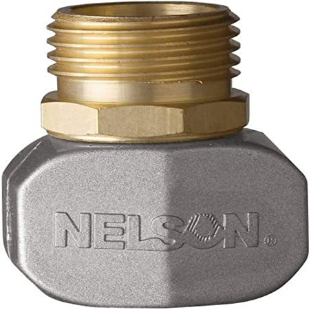 6X Nelson Brass//Metal Hose Repair Clamp Connector Male 855204-1001 6-PK $29