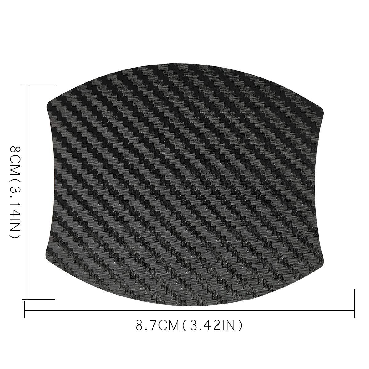 MLING 4pcs Voiture Poign/ée de Porte Insertion Magn/étique Couverture Rayures Protecteur Compatible pour Kuga
