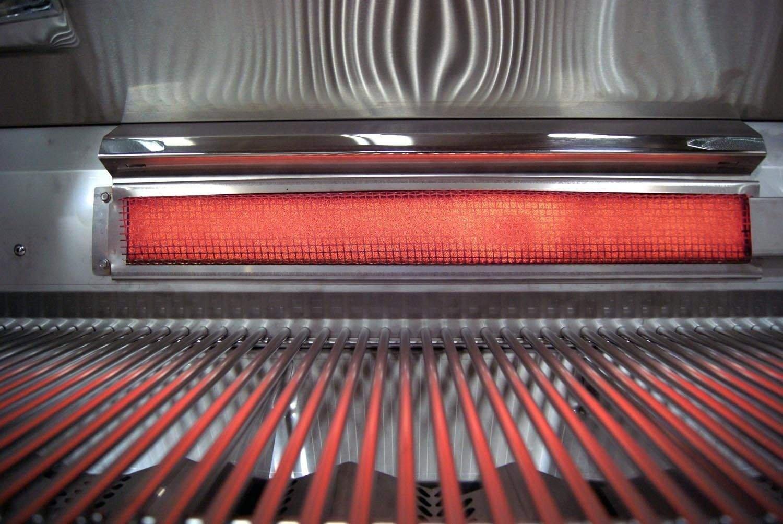 Fire Magic E660s-4E1P-62-W Echelon Diamond E660s Propane Gas Grill with Single Side Burner and Magic View Window On Cart by Fire Magic (Image #4)