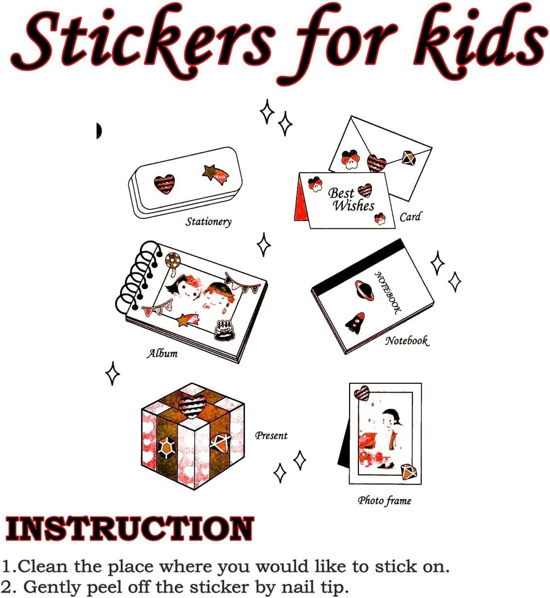 03 Pack 6 Sheets. PARITA Stickers Cute Colorful Vehicle Traffic Bus Van Cars Cartoon Stickers Decal Art Label Glue Crafts Design Scrapbooking Calendar Diary Photo Book for Teacher Children Kids