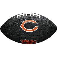 WILSON Sporting Goods NFL Chicago Bears Team - Balón de fútbol, Color Negro, tamaño Mini