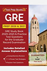 GRE Prep 2020 & 2021: GRE Study Book 2020-2021 & Practice Test Questions for the Graduate Record Examination [Includes Detailed Answer Explanations] Paperback