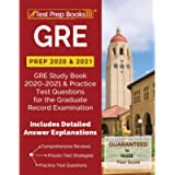GRE Prep 2020 & 2021: GRE Study Book 2020-2021 & Practice Test Questions for the Graduate Record Examination [Includes…
