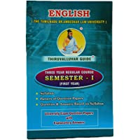 English (For First Year in 3 Year Law Course)