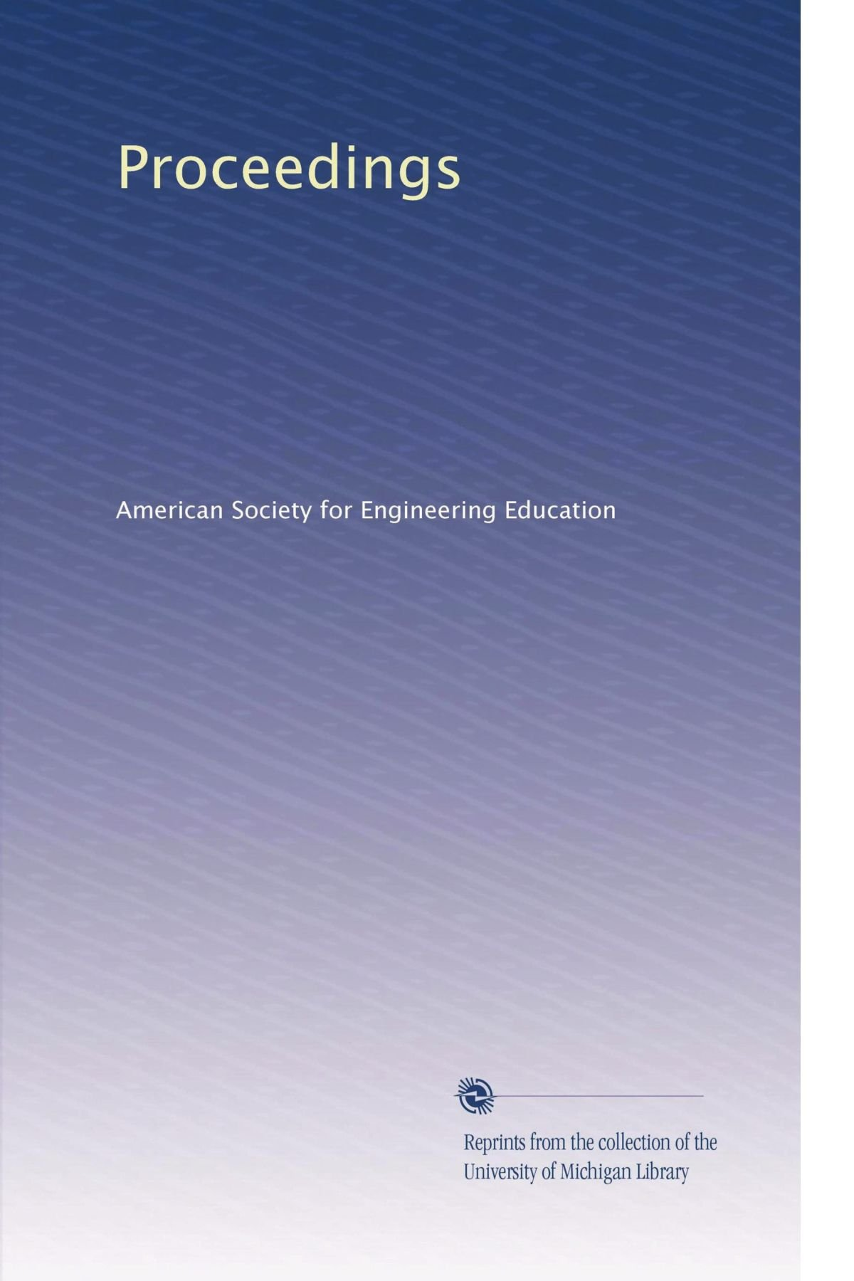 Download Proceedings (Volume 6) pdf epub