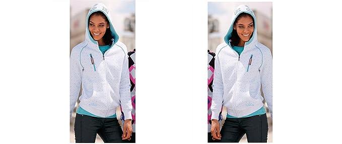 Brunotti - Sudadera con Capucha - Sudaderas - para Mujer Weiss 0692 X-Small: Amazon.es: Ropa y accesorios