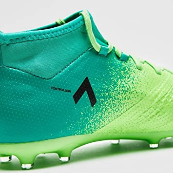low priced 75d30 196d5 adidas Ace 17.1 FG J, Scarpe per Allenamento Calcio Unisex – Bambini, Verde  (