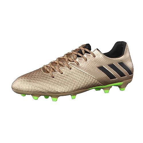 adidas Messi 16.2 FG, Scarpe da Calcio Uomo, Marrone (Bronzo/Cobmet/